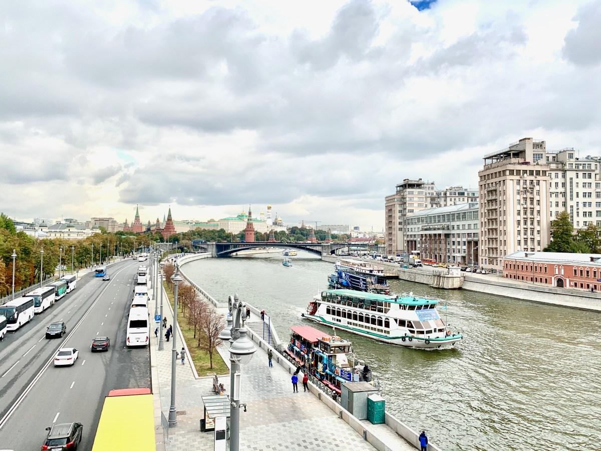 Fluß Moskwa 4
