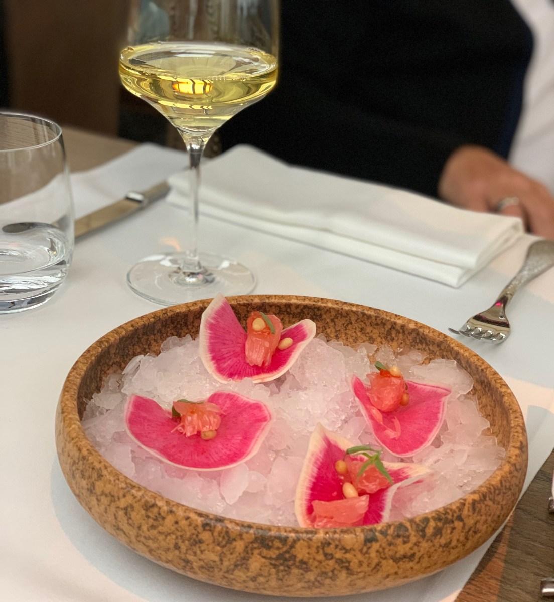 Moskau Restaurant White Rabbit Amuse Bouche
