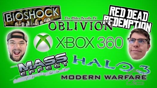 Xbox 360 Game Logos