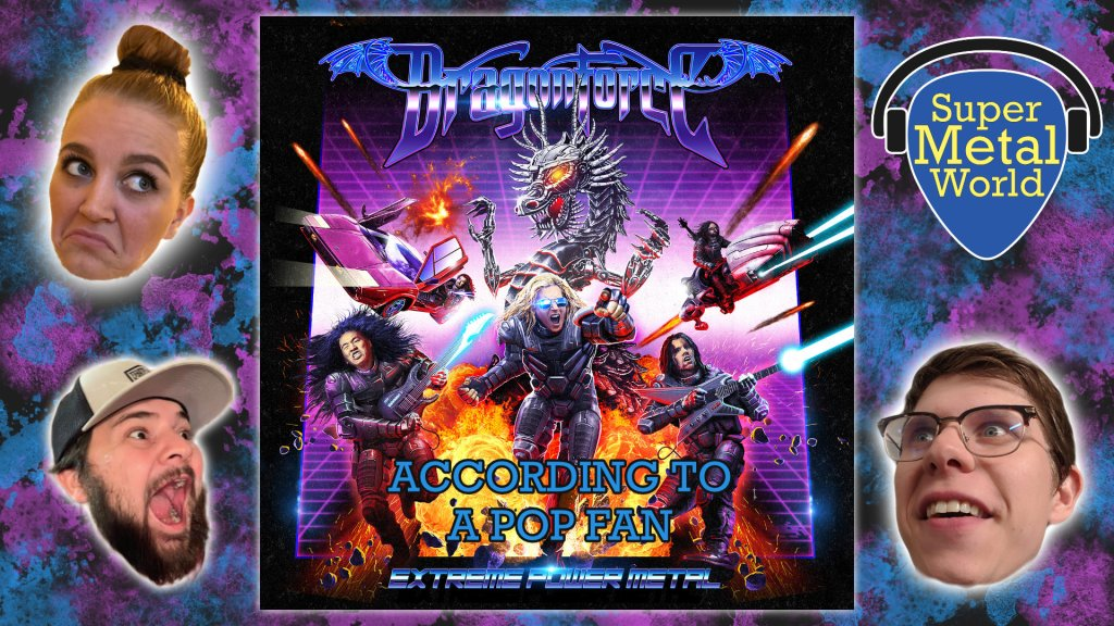 DragonForce Extreme Power Metal album art