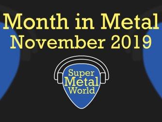 Month in Metal November 2019