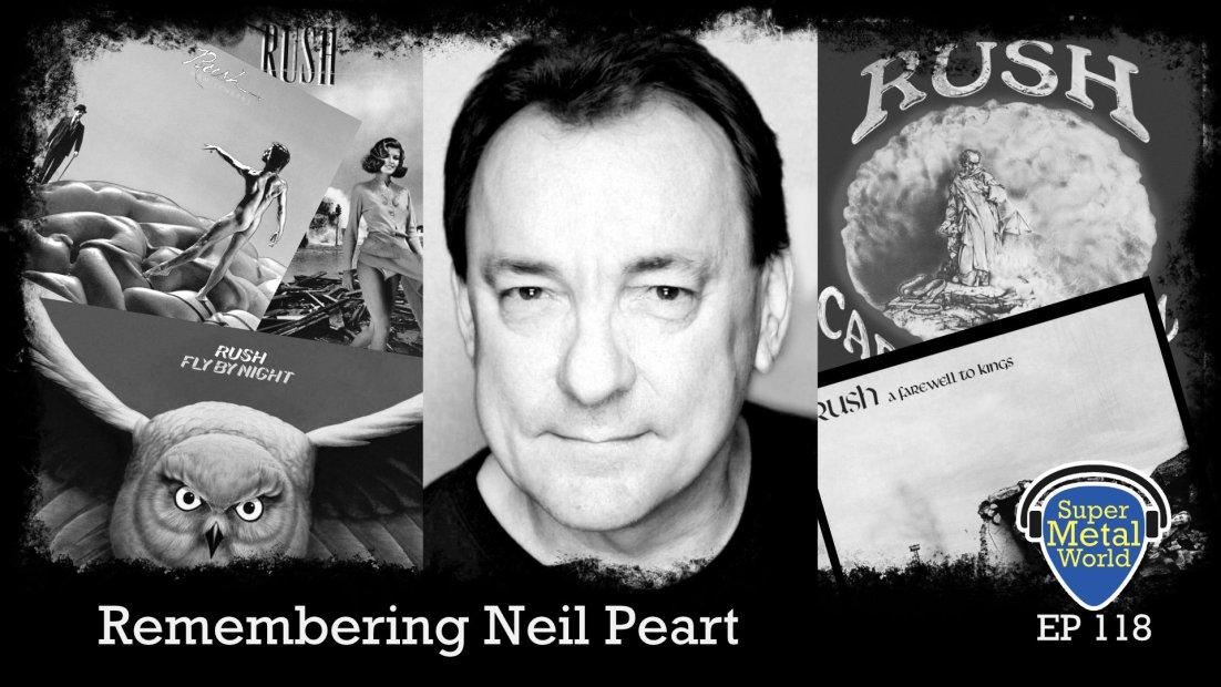 Neil Peart and Rush album arts