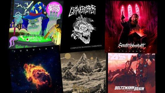 Independent metal bands album art