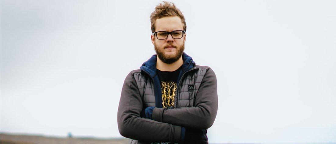 Invisible Oranges editor-in-chief Andrew Rothmund