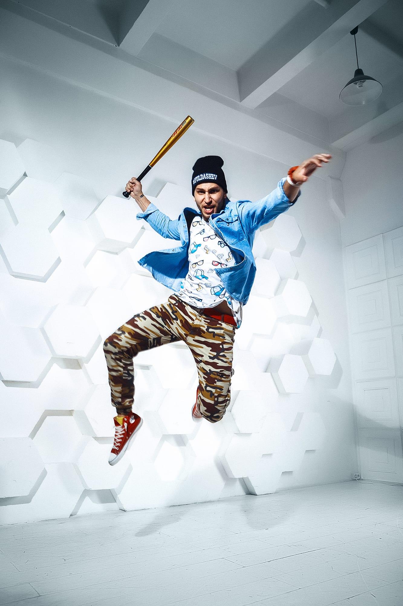 baseball bat man photo