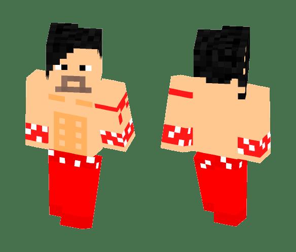 Upload download add to wardrobe 3px arm (slim) background. Download Shinsuke Nakamura L Wwe Minecraft Skin For Free Superminecraftskins