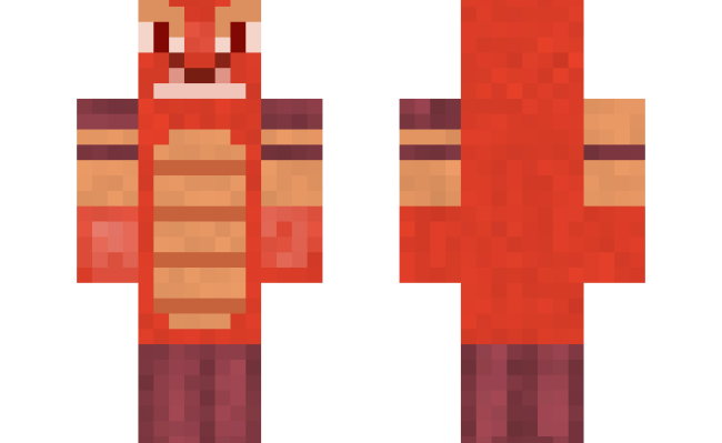 Download Cannibal Crab Atlantis Minecraft Skin For Free