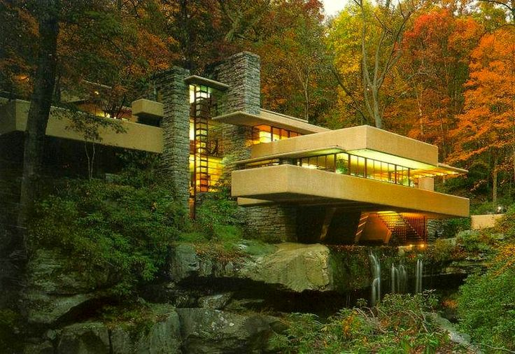 Falling Water House Wallpaper Frank Lloyd Wright S Influence On Bauhaus Architecture