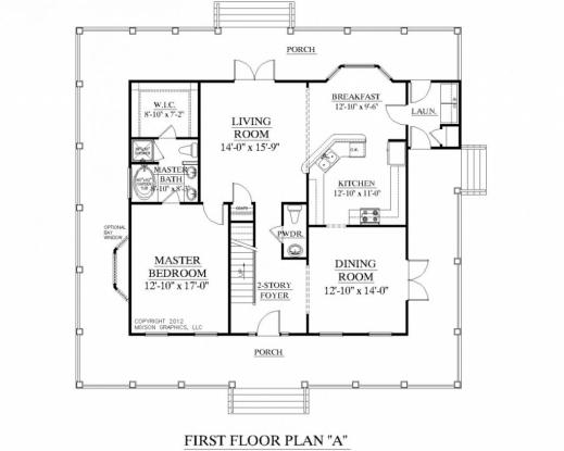 Fascinating 2 Bedroom 2 Bath Floor Plans 3 Bedroom