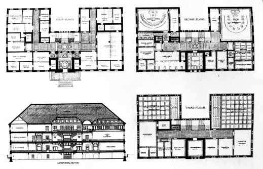 Awesome Floor Plan Elevation Vintage Bungalow House Plans