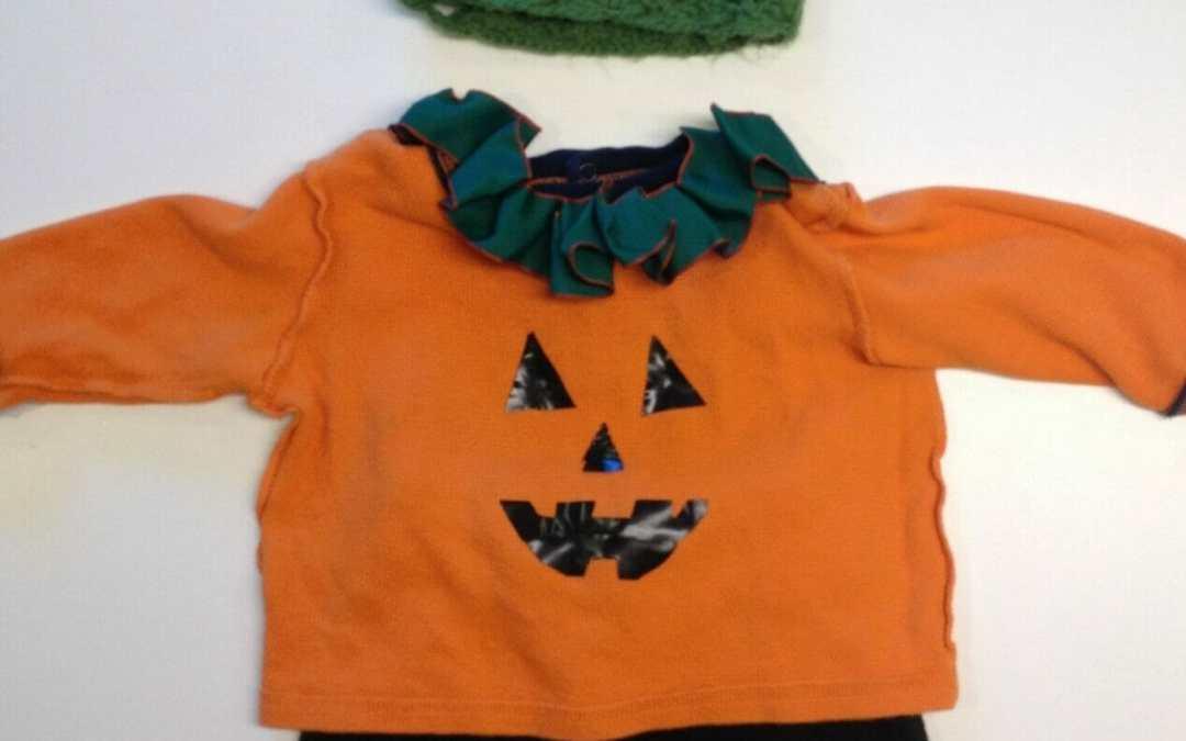 DIY Halloween Costumes: Easy-Peasy Jack-o-Lantern