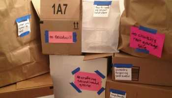 Is decluttering on your new year's list? These five mindful downsizing tips will help you get all areas of your life back under control, once and for all.
