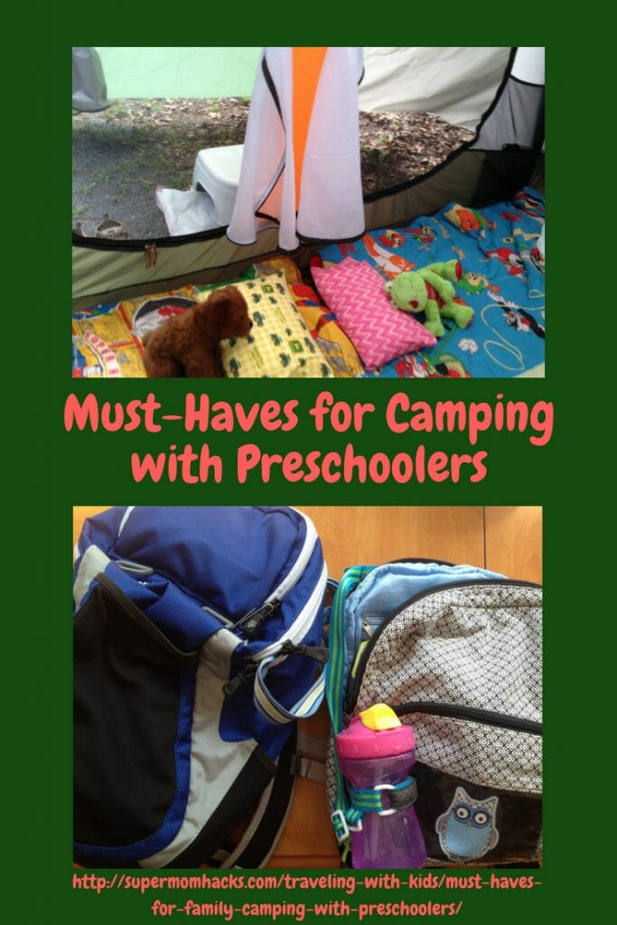 Planning your first camping trip with preschoolers in tow? These must-haves for family camping were what helped us survive our first family camping trip.