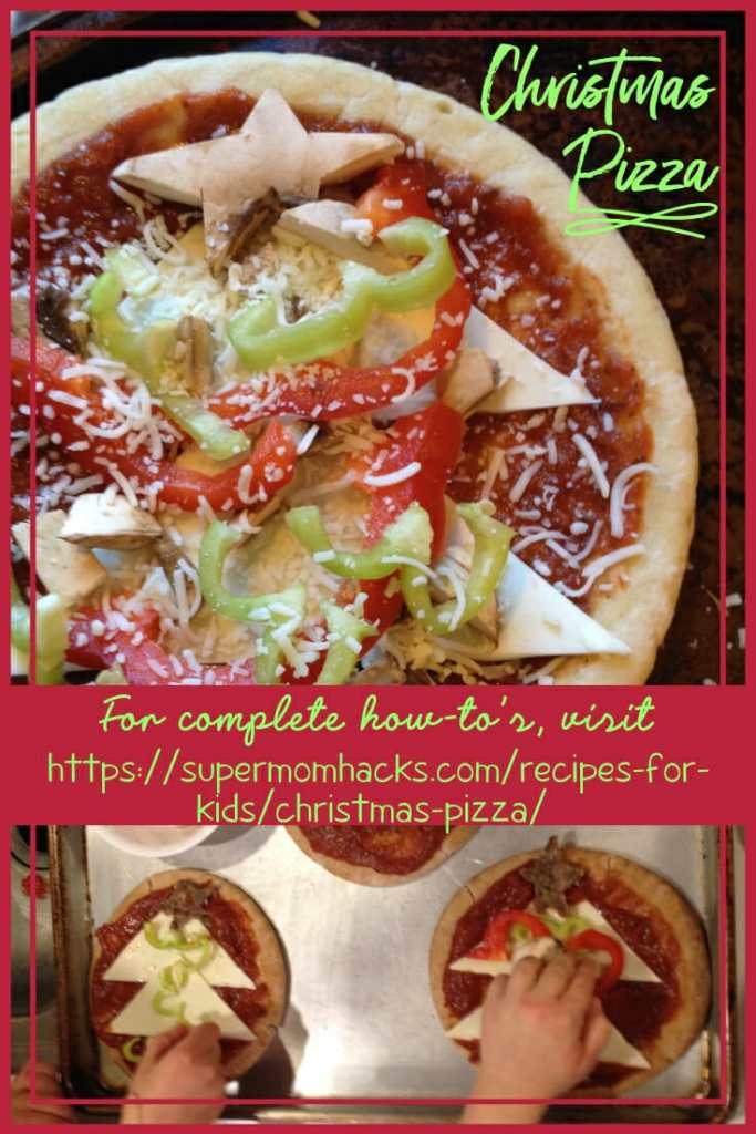 Now that Christmas is over, are your kids going stir-crazy while mourning the long wait until next Christmas? Making some Christmas Pizza may help.