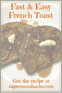 Making delicious French toast from scratch is easier and faster than you might think. If this is a skill not already in your cooking arsenal, this recipe is your go-to guide.
