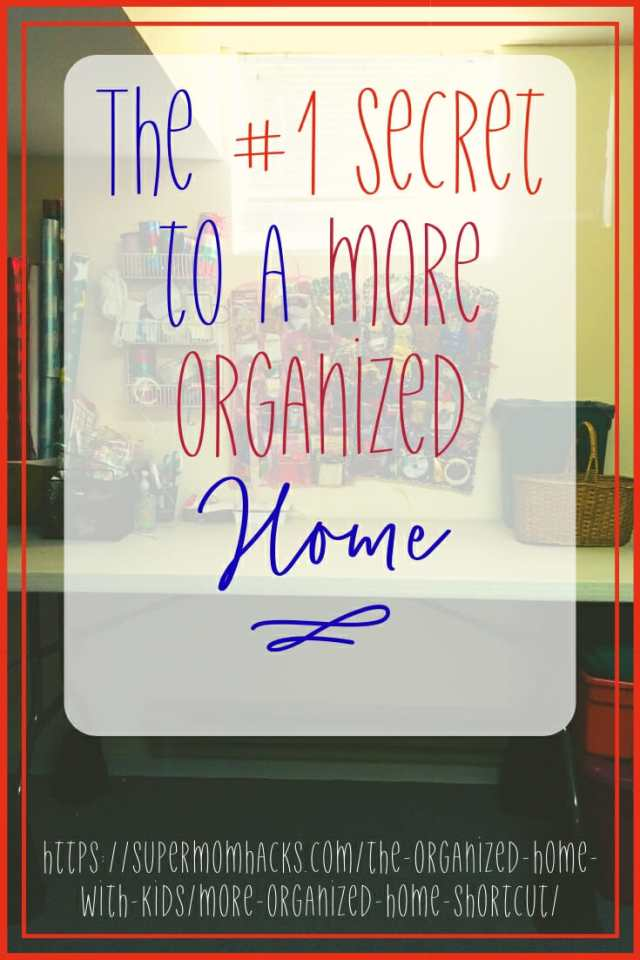 A More Organized Home: is this your New Year's resolution? The experts' take on how to get one all boils down to one word. Read here to learn what it is.