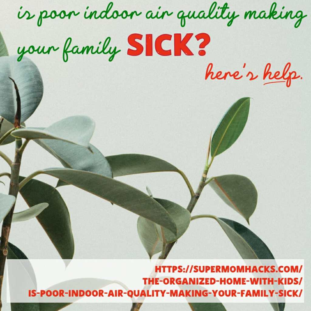 Is your home making your family sick? Knowing the consequences of poor indoor air quality is the first step to improving your family's breathing and health.