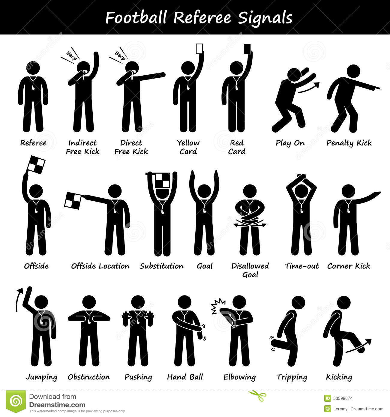 Manual Officiating In Badminton Hand Signals Pictures