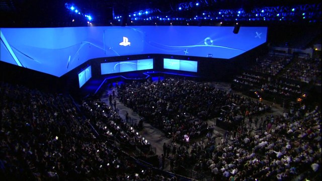 E3 audience PS4