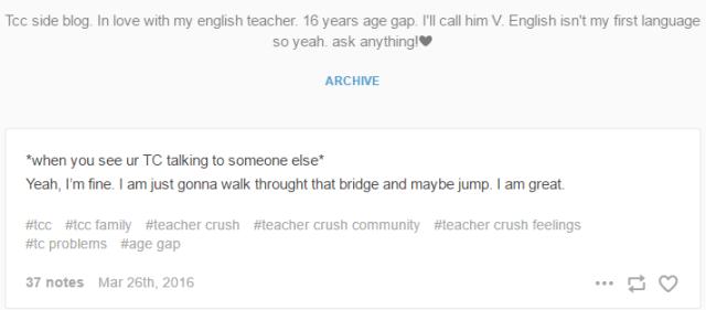Translating Tumblr: Teacher Crush Fandom - SuperNerdLand