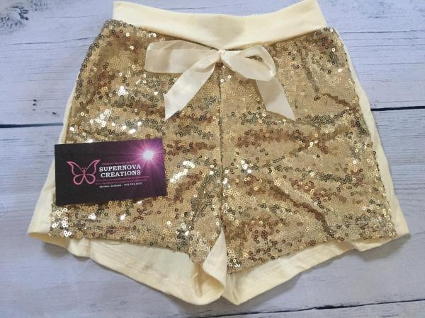 Supernova Creations - Sequin Shorts