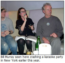 Bill Murray party crashing tour