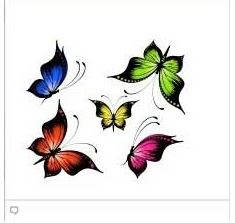 Butterflies facebook Emoticon