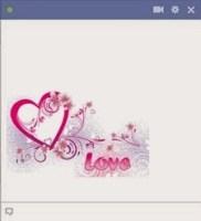 love facebook emoticon