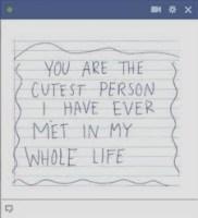 cute quote facebook emoticon