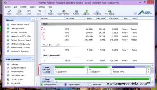 extend windows system partition