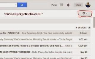 enable gmail desktop notifications