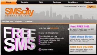 SMSCity send messages