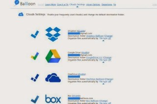 Ballloon-save files online