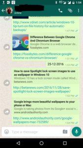 whatsapp note taking