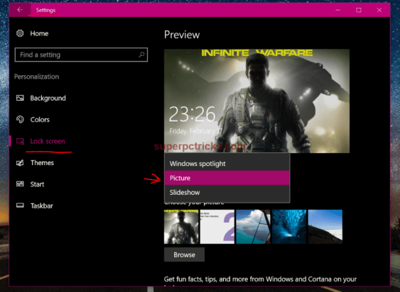 reset windows spotlight preferences