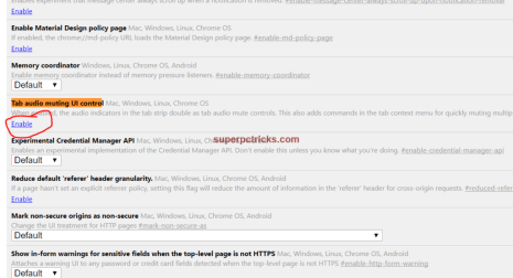 chrome mute tabs by default