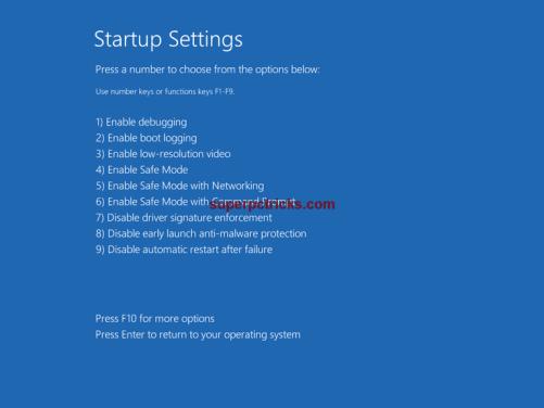 screen flashing in windows 10
