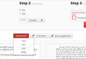 convert pdf file with hindi text into word file online