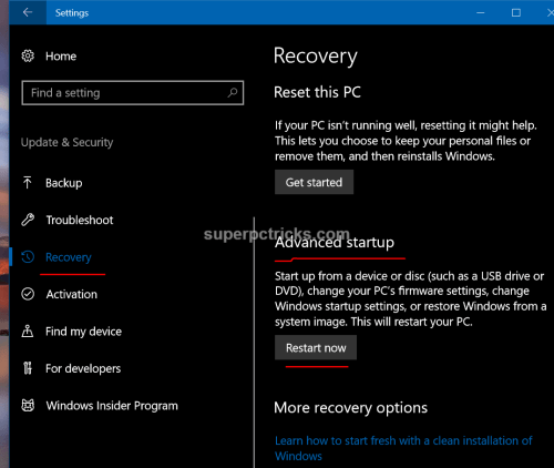 windows could not update the computer's boot configuration clean install