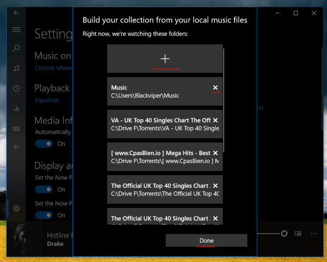 add music to groove music