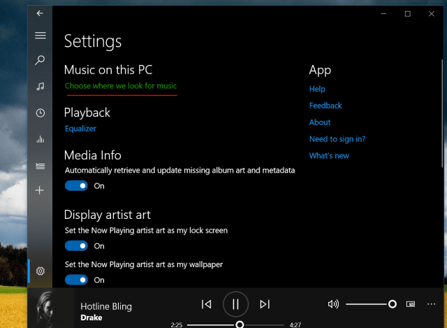 groove music add songs