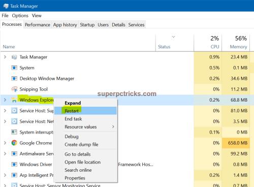 increase thumbnail size windows 10