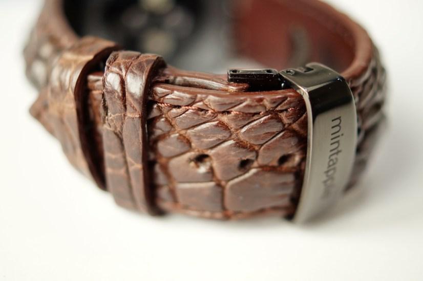 Mintapple Genuine Crocodile Apple Watch Strap 17