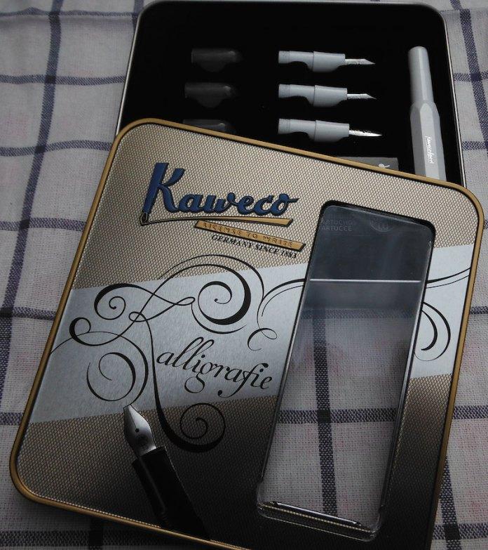 Kaweco Kalligrafie, caja