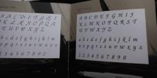 Kaweco Kalligrafie, libreto