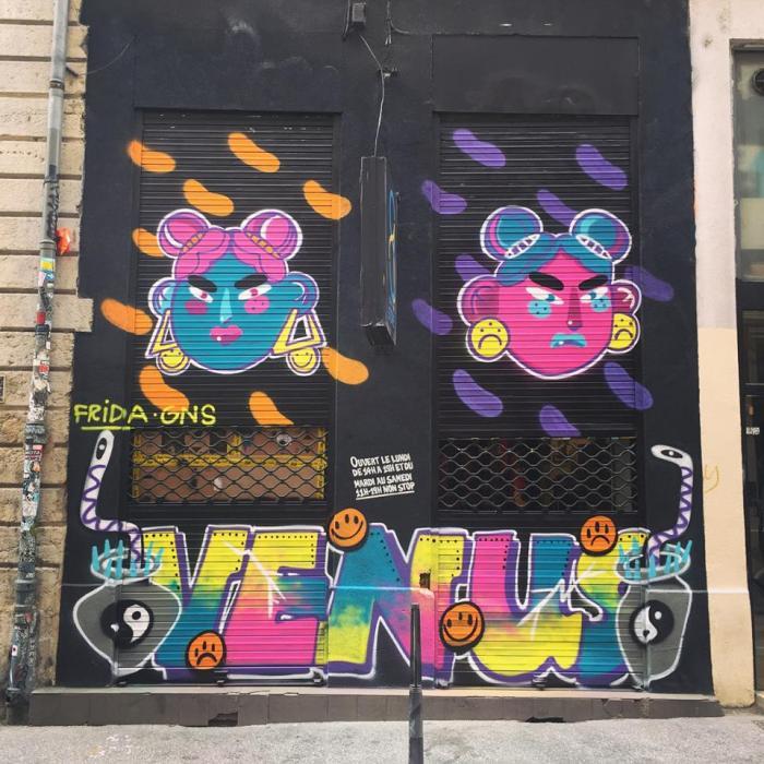 Initiations au graffiti MDangelo • 16 – 21 juillet