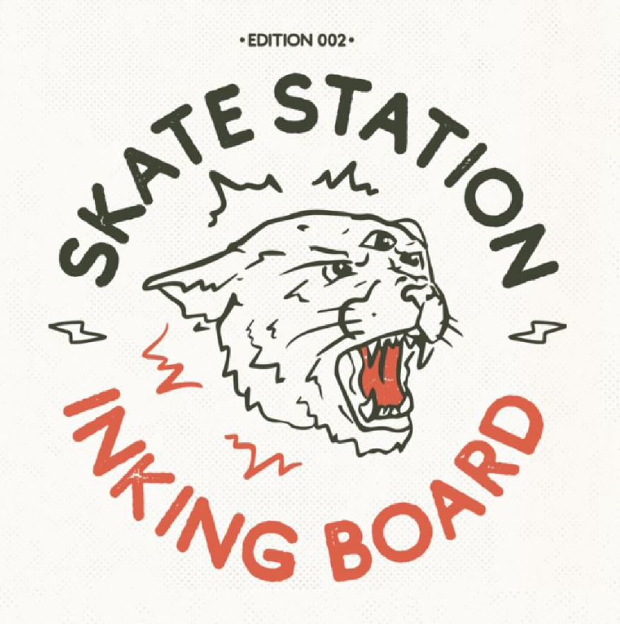 Skate Station#2 – Inking Board | 11 – 26 janvier 2019