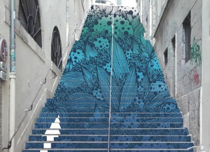 Inauguration Escaliers Mermet