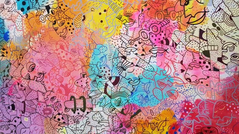 Rencontre avec Etus, l'artiste derrière l'affiche de l'Urban Art Jungle #5