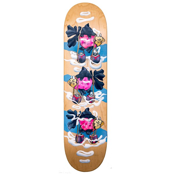 Bambi_MAKIZUSHI 6P_Spraying_Board_Superposition_The_Daily_Board_2020